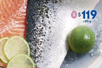 Oferta de Salmon por