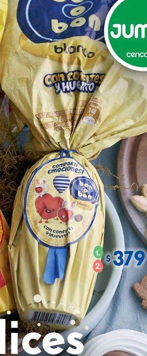 Oferta de Huevo de chocolate Bon o Bon por $379