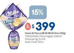 Oferta de Huevo de chocolate Milka por $399