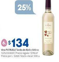 Oferta de Vino Putruele por $134