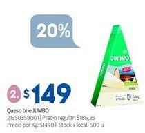 Oferta de Queso brie Jumbo por $149