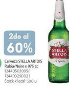 Oferta de Cerveza en botella Stella Artois por