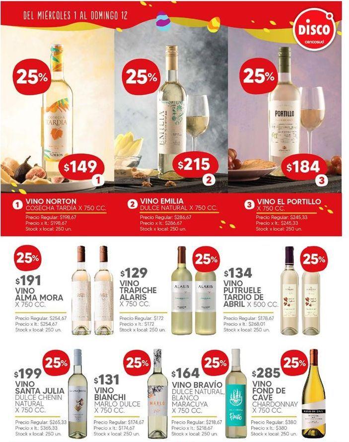 Oferta de Vino blanco por