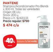 Oferta de Shampoo Pantene por $474