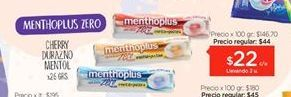 Oferta de Caramelos Menthoplus por $22