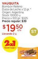 Oferta de Bombones Vauquita por $19,5