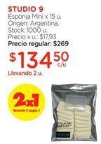 Oferta de Esponja por $134,5