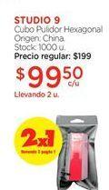 Oferta de Cubo pulidor STUDIO 9 por $99,5