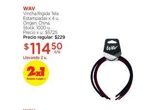 Oferta de VINCHA rigida WAV por $114,5