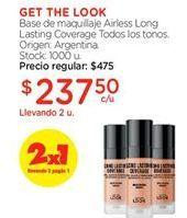 Oferta de Base de maquillaje por $237,5