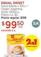 Oferta de Azúcar Equalsweet por $99,5