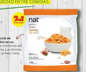 Oferta de Aritos Frutados / Baloncitos / Copos Azucarados / Copos Maiz / Granola x 25 gr. NAT por