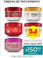 Oferta de Cremas Elvive por $150,5