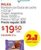 Oferta de Bombones Milka por $19,5