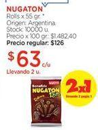 Oferta de Chocolate Nugaton por $63