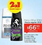 Oferta de Desodorante spray Axe por $66,5