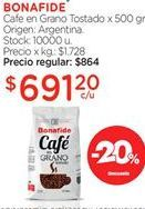 Oferta de Café en grano Bonafide por $691,2
