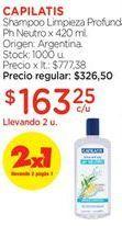 Oferta de Shampoo Capilatis por $163,25