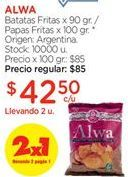 Oferta de Papas fritas por $42,5