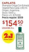 Oferta de Shampoo Capilatis por $154,5