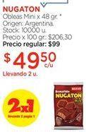 Oferta de Obleas Nugaton por $49,5
