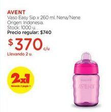 Oferta de AVENT vaso easy sip por $370