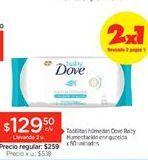 Oferta de Toallitas húmedas para bebé Dove por $129,5