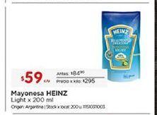 Oferta de Mayonesa Heinz por $59