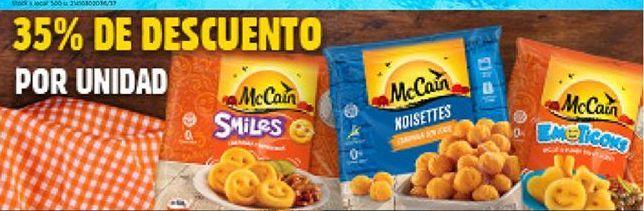 Oferta de Congelados Mc Cain por
