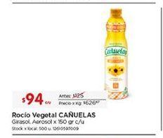 Oferta de Aceite de girasol cañuelas por $94