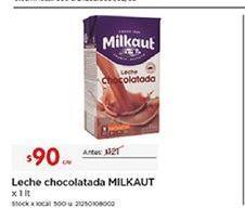 Oferta de Leche chocolatada Milkaut por $90