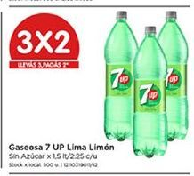 Oferta de Gaseosas 7Up por