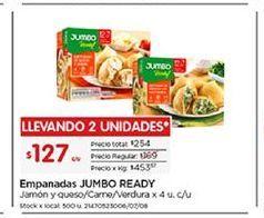 Oferta de Empanada Jumbo por $127