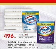 Oferta de Quitamanchas Ayudin por $196