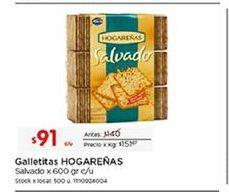 Oferta de Galletas Hogareñas por $91