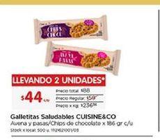 Oferta de Galletas Cuisine&Co por $44