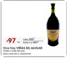 Oferta de Vino tinto Viñas de Alvear por $97