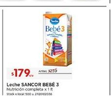 Oferta de Leche Sancor por $179