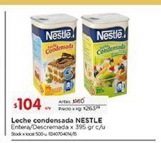 Oferta de Leche condensada Nestlé por $104