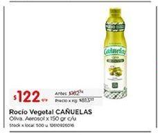 Oferta de Aceites y líquidos cañuelas por $122