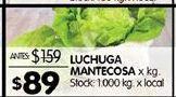 Oferta de Lechuga mantecosa por $89