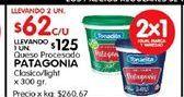 Oferta de Quesos Patagonia por $62
