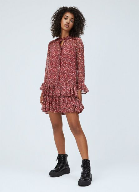 Oferta de DIANA FLOWER PRINT SHORT DRESS por $85