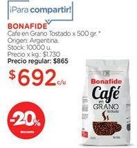 Oferta de Cafe Bonafide por
