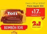 Oferta de Chocolate Tofi por