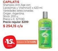 Oferta de Shampoo Capilatis por