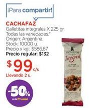 Oferta de Galletas integrales Cachafaz por