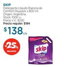 Oferta de Detergente líquido Skip por
