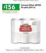 Oferta de Cerveza Stella Artois por $156