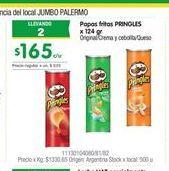 Oferta de Papas fritas Pringels por $165